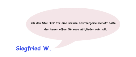 Meinung Stall TSF